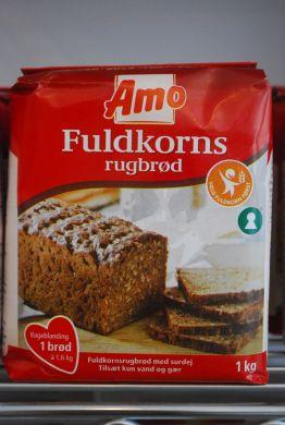 Amo Fuldkorns Rugbrød Mix