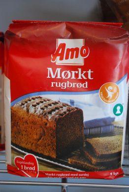Amo Mørkt Rugbrød Mix