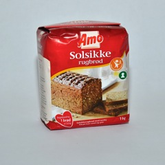 Amo Solsikke Rugbrød mix