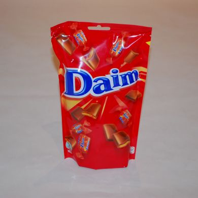 Daim Chocolate Candy Bag