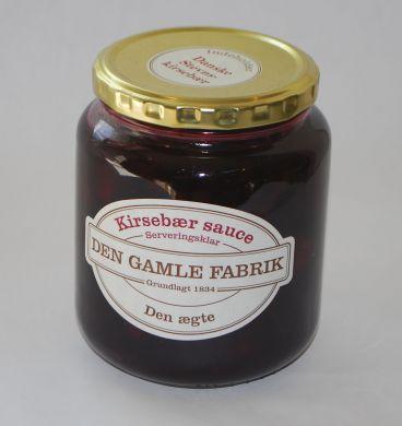 Den Gamle Fabrik Kirsebær sauce