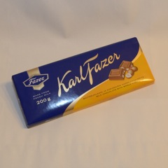 Fazer Milk Chocolate with Hazelnuts