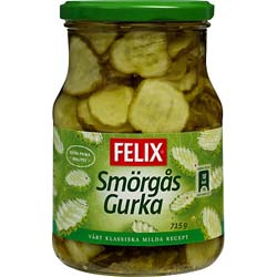 Felix Smörgås Gurka
