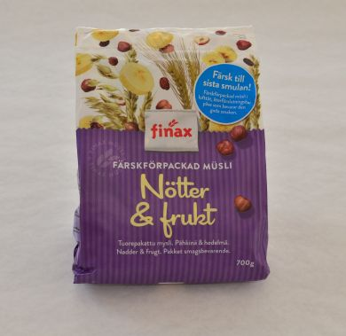 Finax Musli Fruit and Nuts
