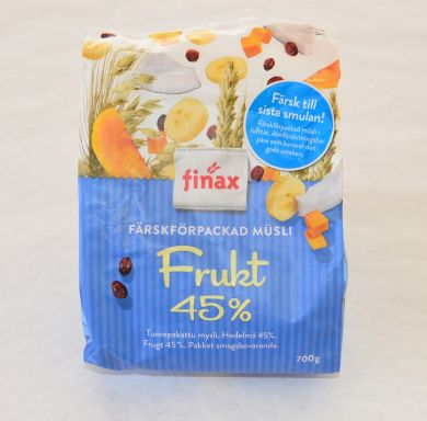 Finax Musli with Fruit