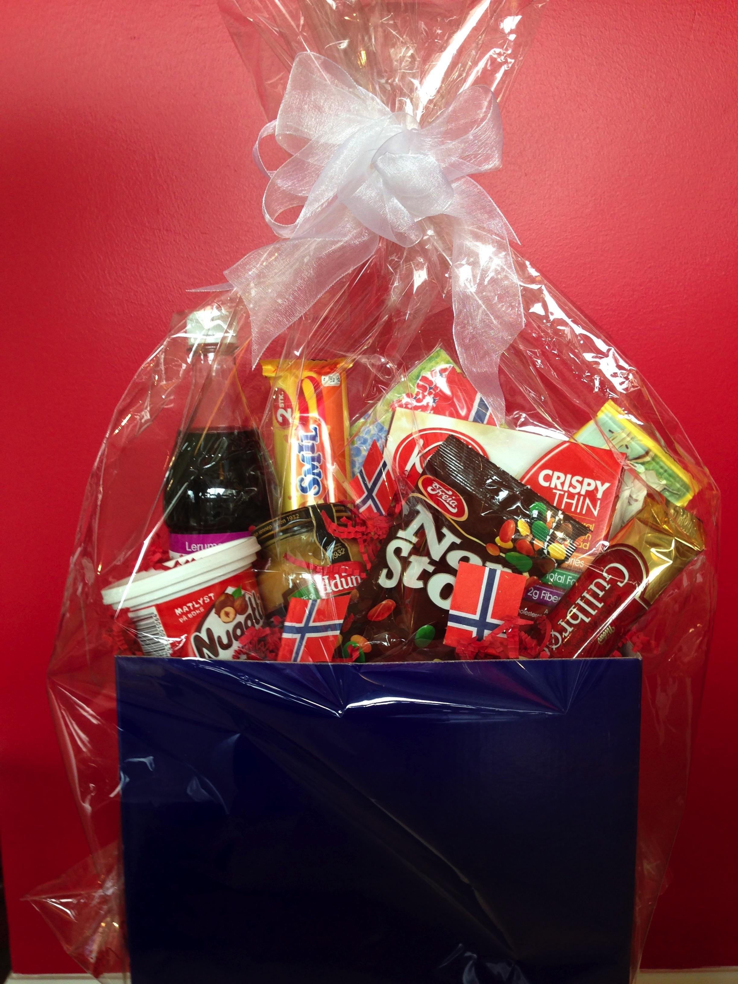 Food Gift Baskets For Christmas