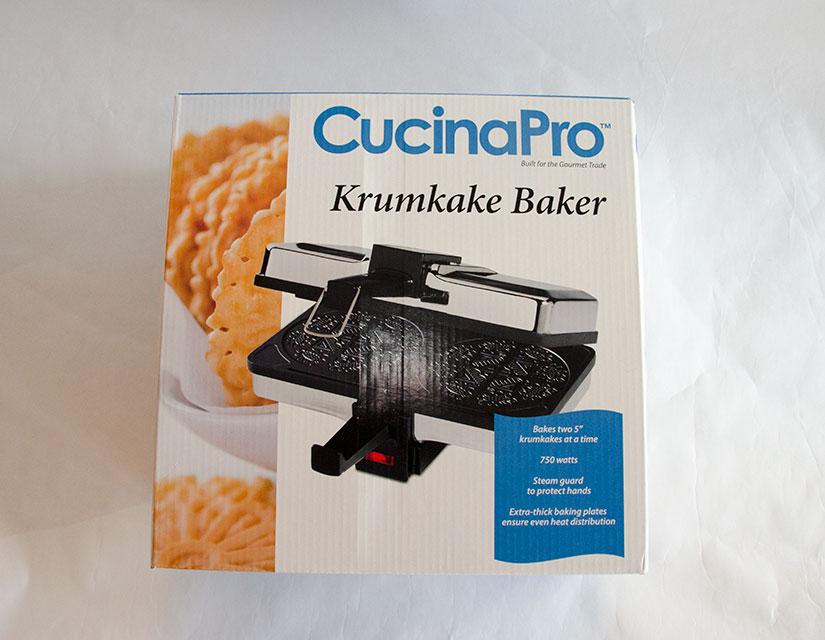 Krumkake Baker