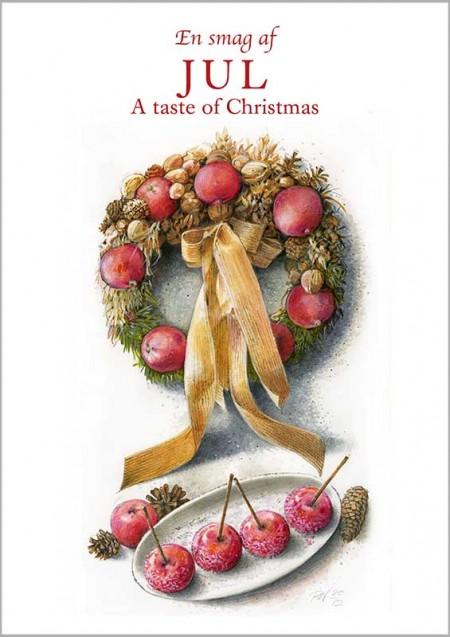 En smag af jul kort lav