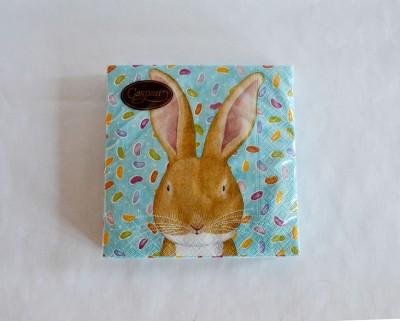 caspari_easter_bunny_napkin
