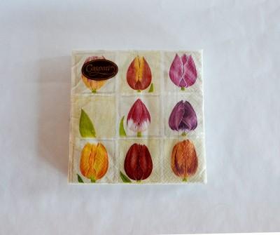 caspari_flower_napkin